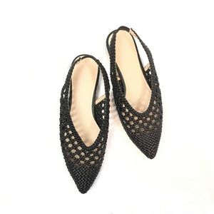 Something Navy Larissa Slingback Flats